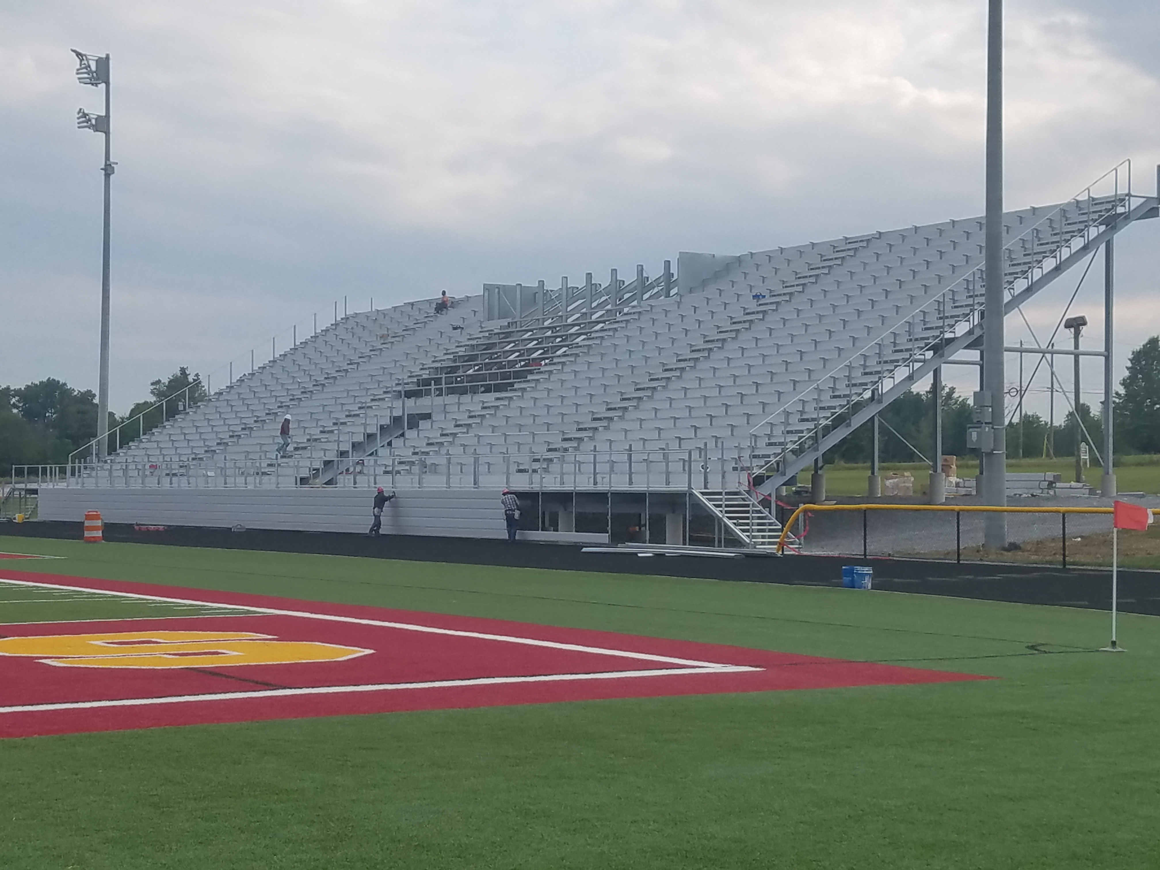 home bleacher done