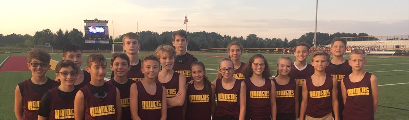 Middle School Cross Country 2019