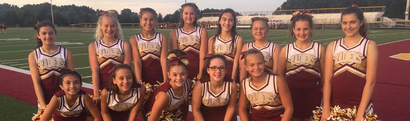 Middle School Cheer 2019