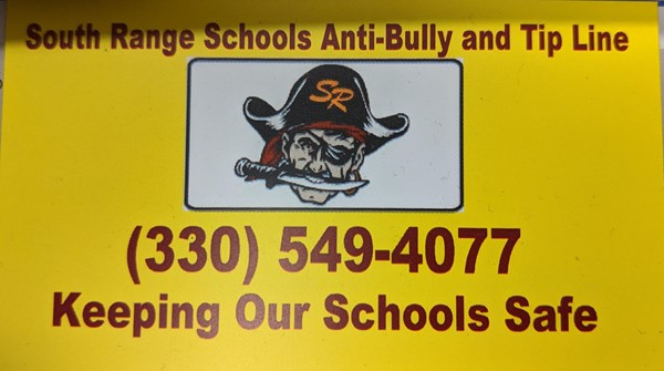 South Range Anti Bully Tip Line